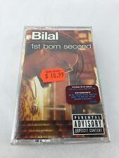 1st Born Second Bilal Cassette Tape NEW FACTORY SEALED Explicit