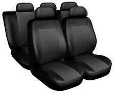 Coprisedili Copri Sedili Salva Sedili adatto per Audi A4 nero-grigio