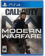 Call of Duty Modern Warfare PS4 Playstation 4 New 2019