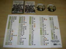 MEDIEVAL TOTAL WAR 1 Pc Cd Rom Original with Manual - RTS - FAST DISPATCH