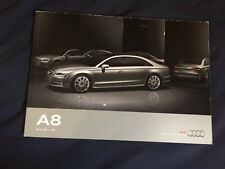 2016 Audi A8 S8 USA 60 Page Color Brochure Catalog Prospekt