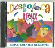 Discoteca Remix Volume 2  Latin Music CD