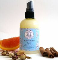 Manifestation Aromatherapy Spray 90% Organic for Abundance, Prosperity & Wealth