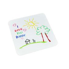 I Love You Daddy Coaster Festa del Papà o Compleanno Regalo-xcn FD01