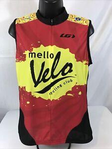 Louis Garneau Mello Vello Women's 2XL Sleeveless Cycling Jerseys 3 Back Pockets