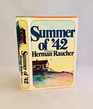 Summer Of '42-Herman Raucher-TRUE First Edition/1st Printing-Basis For Film-RARE