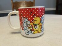 Vintage Care Bears Holiday Christmas Coffee Mug