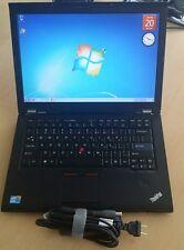Lenovo thinkpad T410s laptop Core i5  2.40GHz 4GB 120GB WEBCAM window 7 64-bit