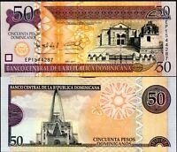 DOMINICAN REPUBLIC 50 PESOS DOMINICANOS 2011 P NEW UNC