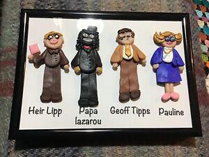 league of gentlemen Frame Pick Any Figures Handmade Papa lazarou  Pauline
