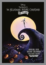 Official 2019 Nightmare Before Christmas Deluxe Calendar A3 Film Wall Hanging