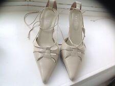 Ravel 100% Leather Stiletto Mid Heel (1.5-3 in.) Women's Shoes