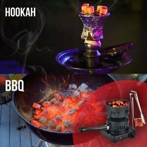 Electric Charcoal Burner w/ Starter for Hookah, Shisha, Nargila, 650w Free Tongs