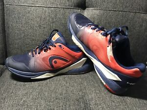 Head Revolt Pro 2.5 Blue Flame Orange US 10 EU 43 UK 9 - Tennis Shoes Sneakers