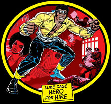 70's Comic Classic Luke Cage Hero For Hire Cover Art custom tee AnySize AnyColor