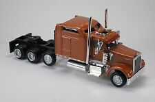 HO 1/87 Promotex # 6432 Kenworth K-900 Lift-Axle Semi Tractor Bronze Color