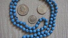 Tuquoise Hand Knotted Mala Beads Necklace -Blessed & Energized Karma Nirvana Med