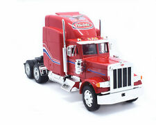 Welly 1:32 Peterbilt 379 Semi Tractor Trailer Diecast Model Red New in Box