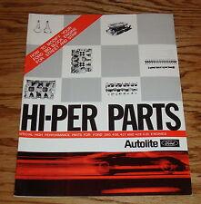 1969 Ford Hi-Per Parts High Performance Brochure 390 406 427 428 CID Engines