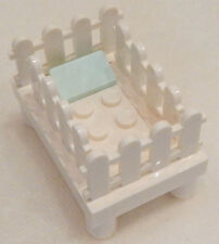 New Lego Baby Crib minifigure scale furniture figure nursery bed minifig 60134
