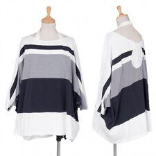 (SALE) JUNYA WATANABE stripe Layered Dolman top Size M(K-32048)