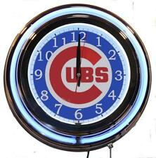 Chicago Cubs Neon Clock MLB New Wall Clock Lifestyle Lighting