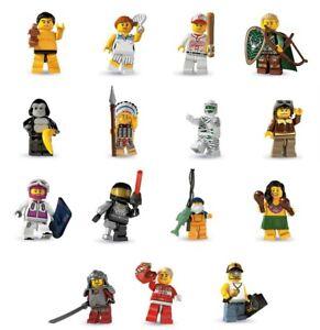 MINI LEGO Figures 8803 SERIE 3 Figura A SCELTA Nuova In Busta ORIGINALE New