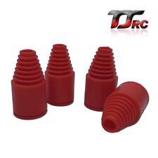 TSRC Gummi Manschetten set Rot für Antriebswellen Passend 1/5 Hpi Baja 5B 5T 5SC