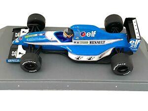 1:43 scale Boxed Onyx Ligier JS37 F1 Car - Thierry Boutsen 1992 Diecast Model