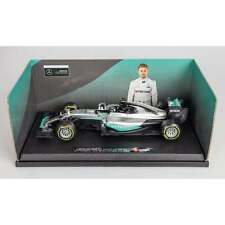 Nico Rosberg 1:18 Car 2016 WORLD CHAMPION Mercedes W07 Hybrid F1 Bburago BNIB