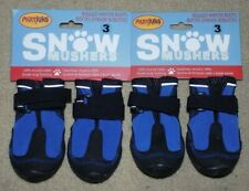Muttluks Snow Mushers Dog Boots/Shoes/Sneakers Size 3-2pair -NIP