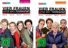 4 DVDs * VIER FRAUEN UND EIN TODESFALL - STAFFEL 6 + 7 IM SET # NEU OVP %