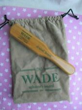 Wade Dralon Upholstery Brush & Drawstring Bag Vintage