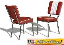 co-24 Ruby bel air Meuble 2 chaises dîner de cuisine dans le style 50er ans USA