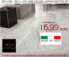 Piastrelle Pavimento gres VARI COLORI   60 X 120 LAPPATI RETTIFICATI ITALIANI