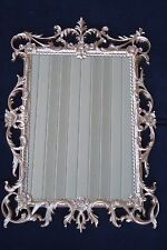 Vintage Turner Gold Mid Century Modern Hollywood Ornate Wall Mirror As Is
