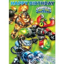 SKYLANDERS 'HAPPY BIRTHDAY' Birthday Card Boys Childrens Birthday Card