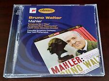 MAHLER - SYMPHONIES NOS.1 & 2 [Walter] 2 CDs