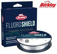 Berkley FluoroShield 300yd Fluorocarbon Infused Copolymer Fishing Line Clear NEW