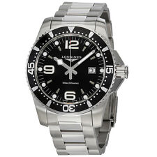 Longines HydroConquest Black Dial Mens Watch L38404566