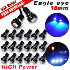 20X 9W LED Eagle Eye Light Motor Car Daytime Running DRL Backup Lights Blue 12V