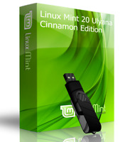 Linux Mint 20 Ulyana Cinnamon Live Boot USB & Full Install Data & File Recovery