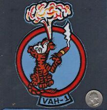 VAH-1 SMOKIN TIGERS Douglas A-3 SKYWARRIOR A-5 VIGILANTE US Navy Squadron Patch