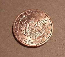 monaco 2 cent annee 2001
