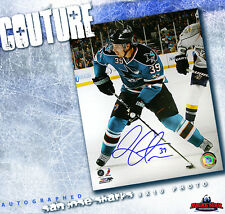 LOGAN COUTURE Signed San Jose Sharks 8x10 Photo 70074