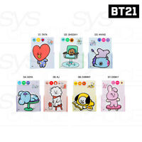BTS BT21 Official Authentic Goods Letter 7Characters SET by Kumhong Fancy