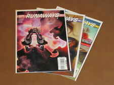 "RUNAWAYS #19 - 21 VF COMPLETE SET ""DEAD MEANS DEAD"" BRIAN K. VAUGHAN MOLLY NICO"
