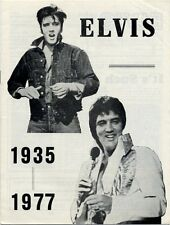 Elvis Presley Fan Club Magazine 1977 Obituary