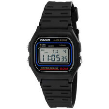 Casio W59-1V Black Chronograph Alarm Sport Digital Watch Water Resistant Unisex