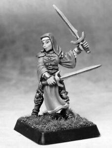 1 x SISTER MARY BATTLE NUN - WARLORD REAPER miniature jdr rpg nonne soeur 14672